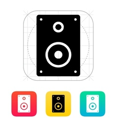 Audio speakers icon vector