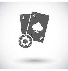 Blackjack vector image vector image