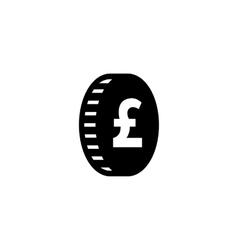 Money pound icon vector