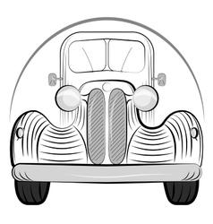 Retro Auto vector image vector image