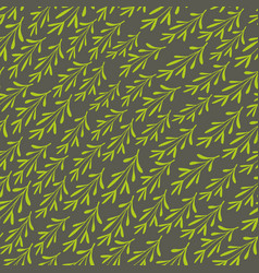 Simple endless background with abstract grass vector