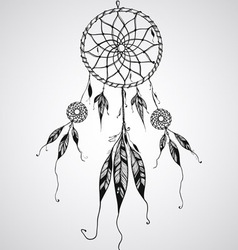 Dream catcher mascot vector