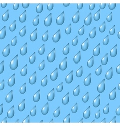 Sky with rain seamless vector