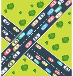 Highway traffic vector