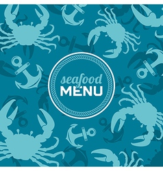 Seafood Menu 2 vector image