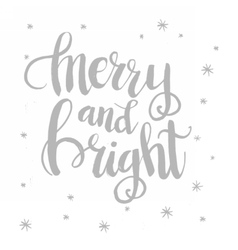Christmas card template for holiday design vector