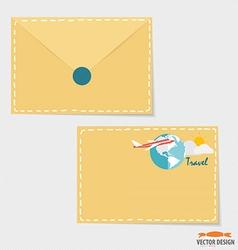 Envelope Business working elements for web design vector image