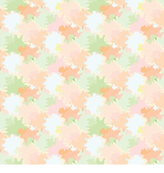 Seamless background with repetitive colored spots vector