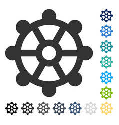 Cog icon vector