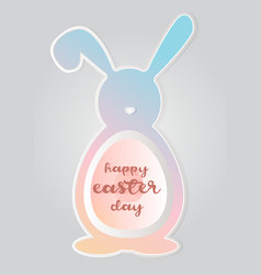 Happy easter day2 vector