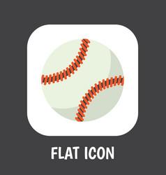 Of active symbol on baseball vector