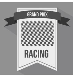 Racing league design vector
