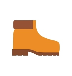 Boot industrial security icon vector