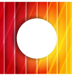 Color Orange And Red Background With Speech Bubble vector image vector image