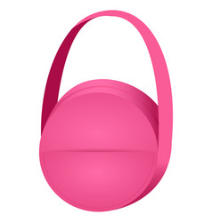 fashion handbag vector image