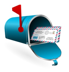 Mail and E-Mail Concept vector image vector image