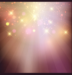 sparkle stars background vector image
