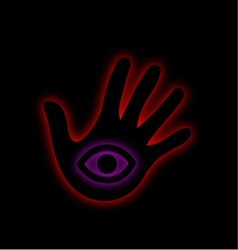 The all seeing eye- illuminati vector