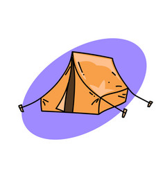 Traditional tent vector