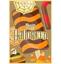 Halloween Sweet Treats vector image