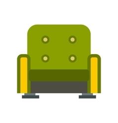 Armchair icon flat style vector