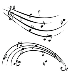 musical graphic vector image