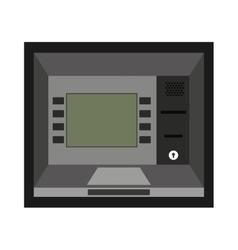 atm machine isolated icon design vector image