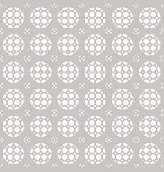 seamless geometric ornament pattern lattice grid vector image vector image