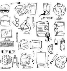 Doodle of education object stock vector