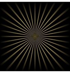 Golden striped background vector