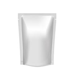 Mockup Blank Foil Food Or Drink vector image vector image