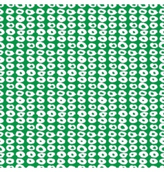 Pattern with doughnut like shapes vector