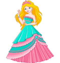 Princess Mermaid vector image vector image