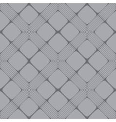 Grey Rectangle Mosaic Seamless Pattern vector image