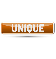 Unique - abstract beautiful button with text vector