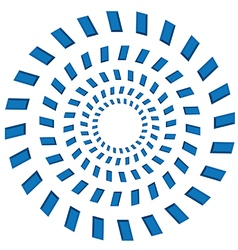 Rotating circles vector