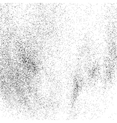 Grainy texture on white square vector