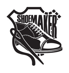 Hoes shop and shoes vector