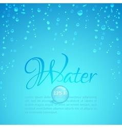 Waterdrops vector