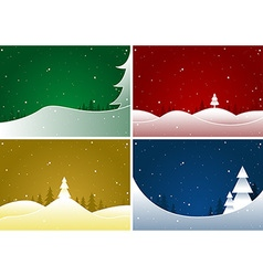 Merry christmas set vector