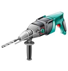 Rotary hammer vector