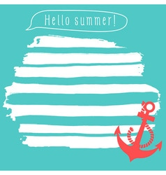 Summer notepad vector