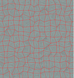 Abstract rectangle mosaic pattern background vector image vector image
