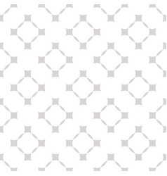 geometric seamless pattern with squares grid vector image