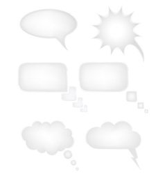 speech bubbles dreams vector image