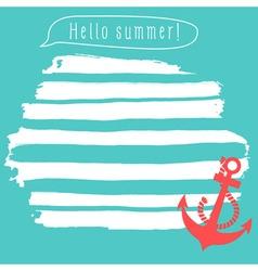 Summer notepad vector