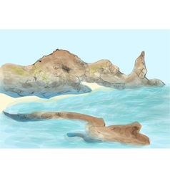 Galapagos island vector