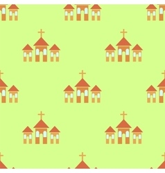 Religion Icon Seamless Pattern vector image vector image