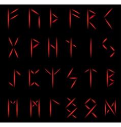 Runes fire vector