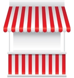 Detailed of a stall stand vector